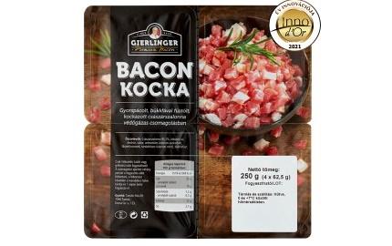 Innovációs díjat nyert a Gierlinger Premium kockázott Bacon